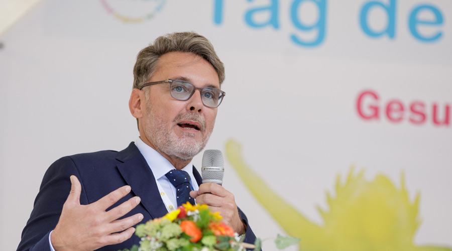 Dr. Torsten Tomppert - Vorsitzender des LAGZ-Vorstands