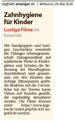 tagblatt-anzeiger.de, 20. Mai 2020