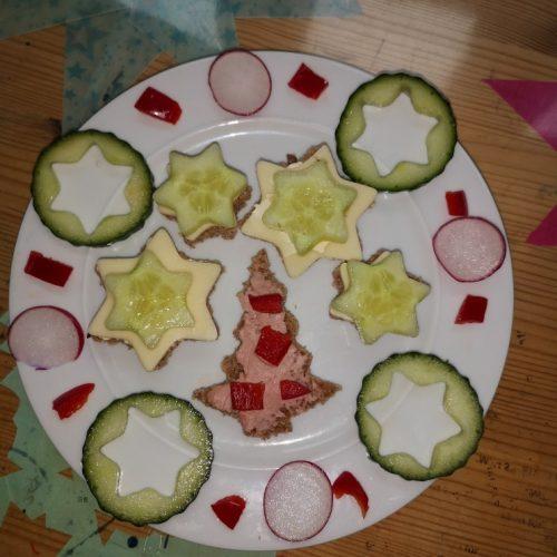 Anna und David Steimle haben dieses gesunde Frühstück gezaubert